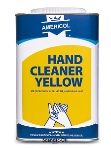 Hand Cleaner Yellow